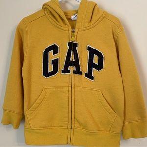 Gap Toddler Boy Zip Hoodie Size 2T